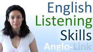 Learn English Listening Skills - How to understand native English speakers(Learn the key points on how to improve your listening comprehension when listening to native speakers of the English language. Daily Dialogues (104) ..., 2011-11-13T18:50:00.000Z)
