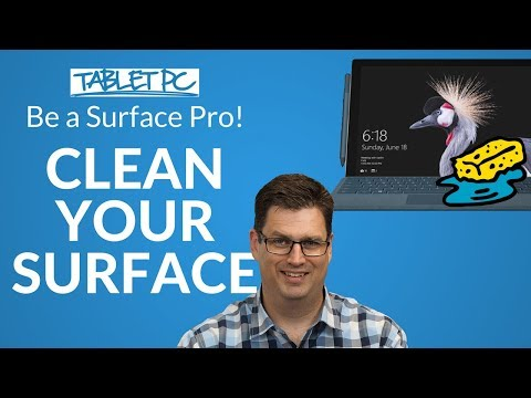 How to clean your Surface screen and keyboard