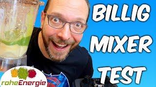 Wie gut sind billige Mixer? Hochleistungsmixer unter 200 EUR im Test