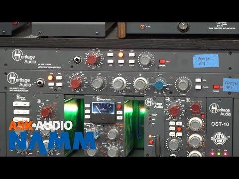 NAMM 2018: Heritage Audio Elite Series Preamp & Preamp EQ