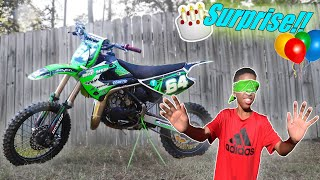 Surprising My Brother With NEW DIRTBIKE for His BIRTHDAY!!