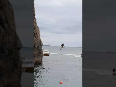 World Record Holder Uses Jetpack