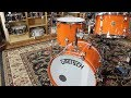Gretsch G6659TFM Broadkaster Jr Cherry Stain - YouTube