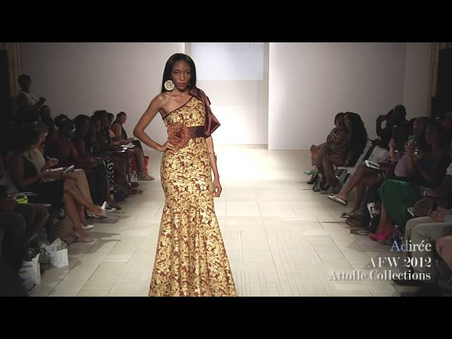 Attolle Collections | Africa Fashion Week, New York 2012