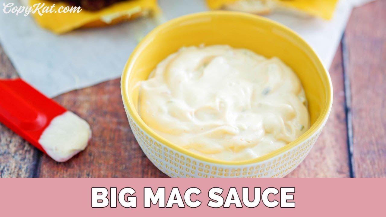 Mcdonalds secret sauce copycat recipe youtube forumfinder Choice Image