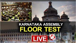 Watch Karnataka Assembly Floor Test LIVE Updates V6 IOS App ▻ https...