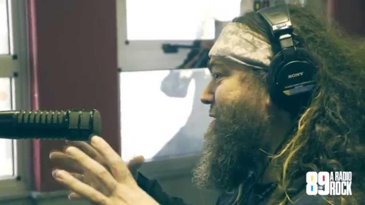 Max Cavalera (Cavalera Conspiracy) - Entrevista na 89 - A Rádio Rock