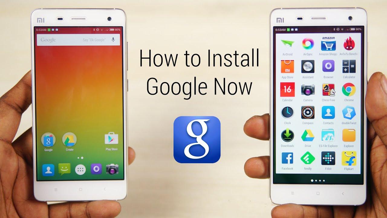 Google Now Launcher on MIUI 6 - How to Install! [Mi3, Mi4 ...