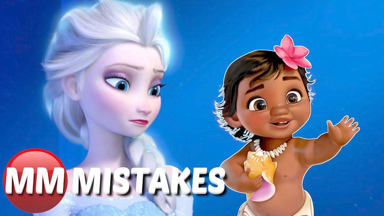 10 Biggest Disney Princess MOVIE MISTAKES You Totally ...
