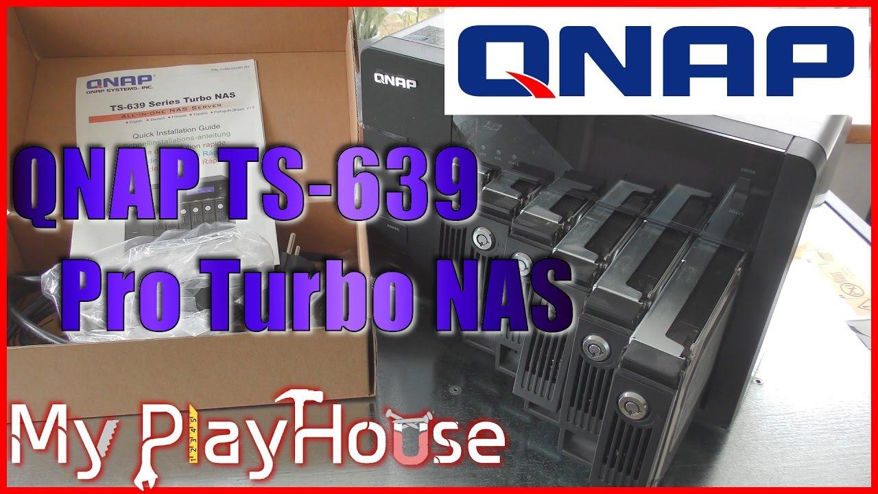 QNAP TS-639Pro TurboNAS Driver UPDATE