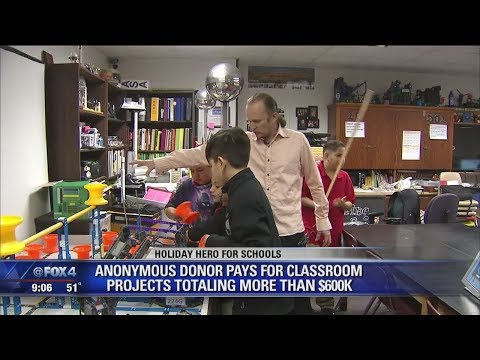 Anonymous donor gives $600,000 to fund Dallas ISD school projects