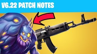NOUVEAU AK-47 - BLITZ ET ZOMBIES RETURN IN FORTNITE v6.22 Patch Notes