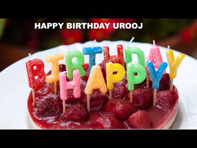 Urooj   Cakes Pasteles - Happy Birthday
