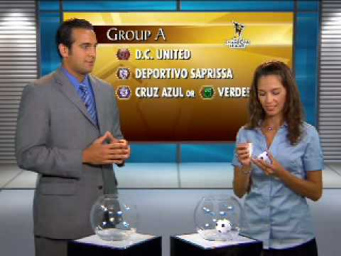 2008/09 CONCACAF Group Stage Champions League Draw