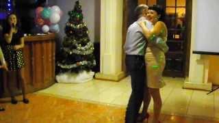 танец молодых,20 лет совместной жизни