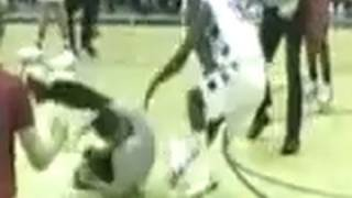 High School Basketball Player Attacks Referee