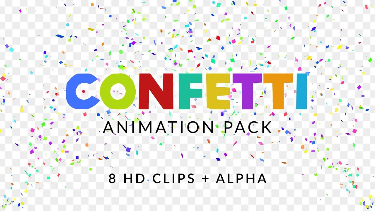 Confetti Cannon Overlays - Animation Pack