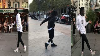 Salif Gueye aka Salif Crookboyz (dance videos)