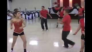 anjannette quinceaera surprise dance