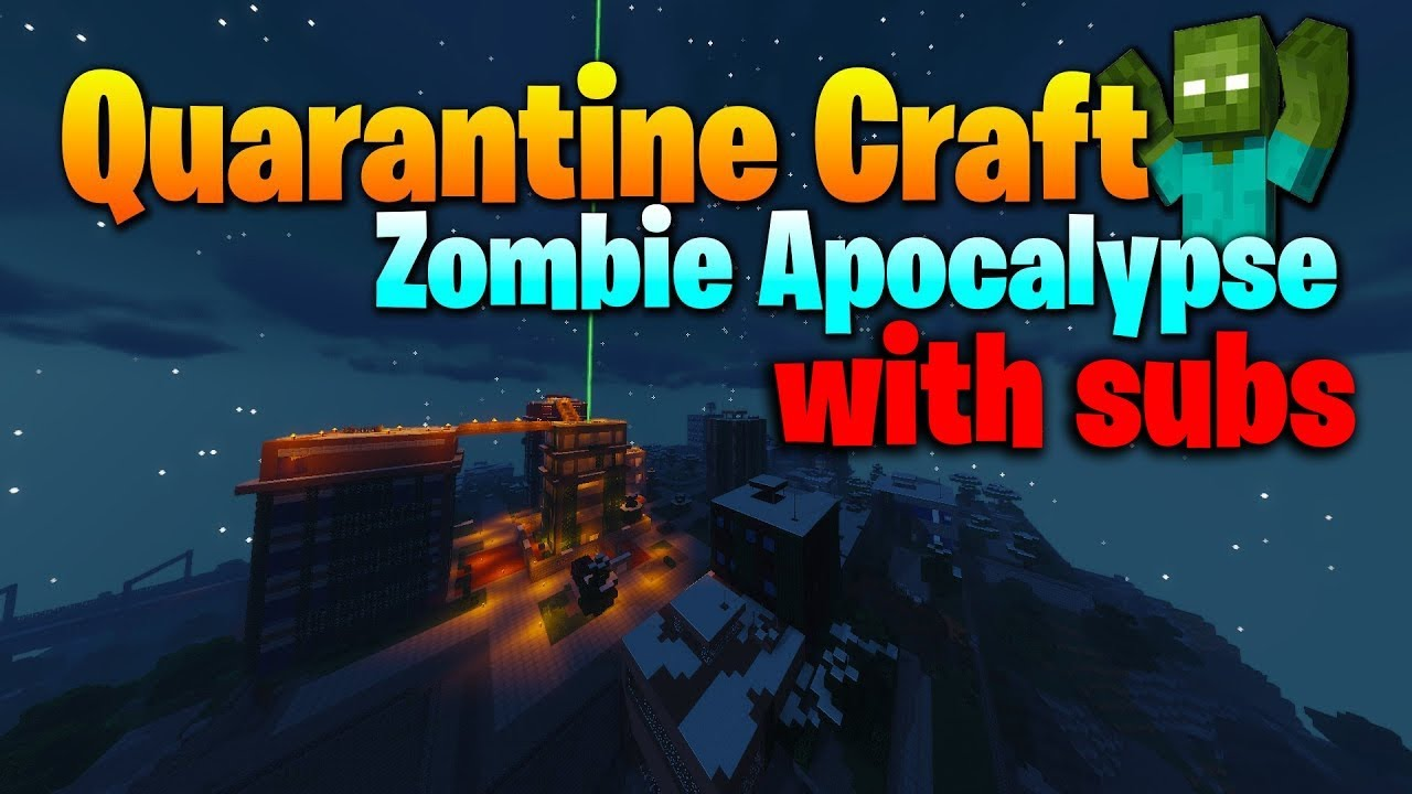 Playing with Subs part 12! - Minecraft Zombie Apocalypse (Livestream)