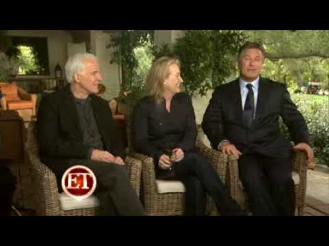 Meryl Streep, Alec Baldwin & Steve Martin - It's complicated Interview