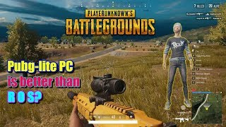 Gambar cover PUBG lite PC game-play (Tagalog)