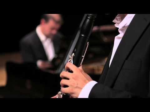 Esa-Pekka Salonen: Nachtlieder for clarinet and piano - Luis Fernandez plays Salonen´s Nachtlieder