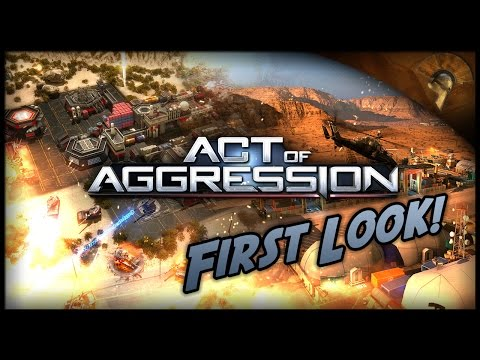 Act of Aggression Gameplay - First Look!