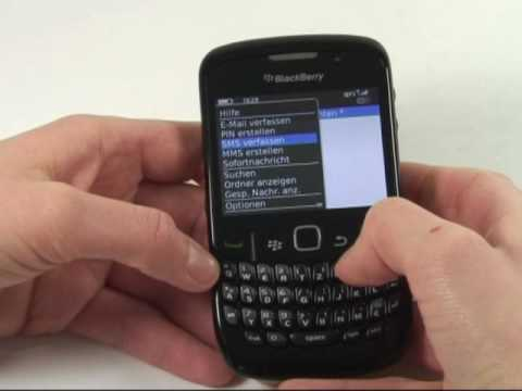 BlackBerry Curve 8520 Test Bedienung