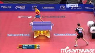 WTTC: Zhang Jike-Timo Boll