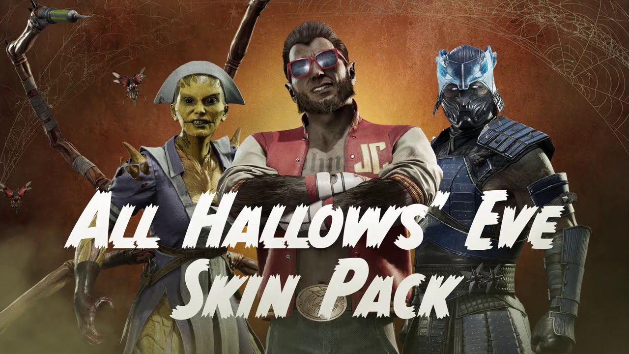 New All Hallows' Eve Character Skin Pack Available Now Part of Mortal Kombat 11: Aftermath Expansion