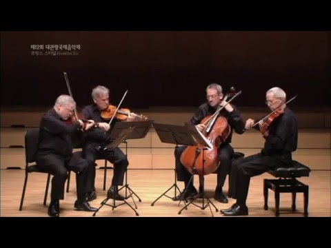 [2015 GMMFS 대관령국제음악제]  Dvořák - String Quartet No. 13 in G major, B. 192, op. 106