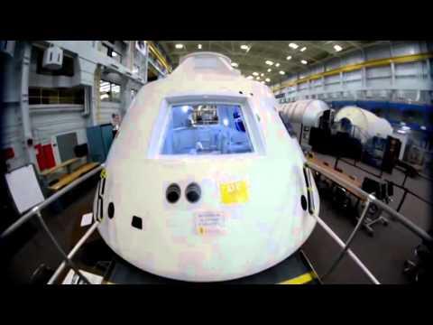 NASA's Mars Spaceship 'Orion' | The Edge