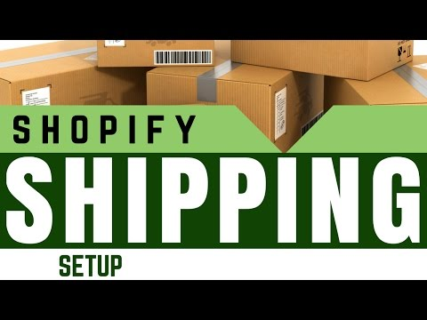 Shopify Shipping Setup Tips - There IS A Shipping Rate That Will Work For YOU!