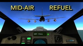 Kerbal Space Program - Mid-Air Refueling / Coupling