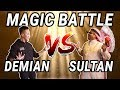 MAGIC BATTLE DEMIAN VS SULTAN