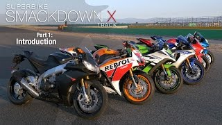2015 Superbike Smackdown X Introduction: Methods & Measures - Part 1 - MotoUSA