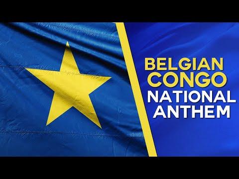 "La Brabançonne - National Anthem of the ""Belgian Congo"""