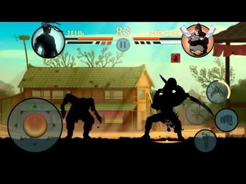 Игра Shadow Fight 2 Бой с тенью #29 мультик игра Оса и Сегун ВРАТА ТЕНЕЙ видео для детей #КРУТИЛКИНЫ