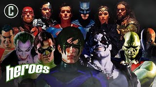 Justice League: What's Next For The DCU? - Heroes