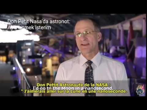 Düz Dünya  3 -  NASA Aya gitmek için tüm teknolojileri kaybettik - Terre plate
