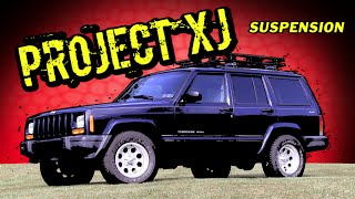 "Project XJ Part 1: Rubicon Express 3.5"" Superflex Lift Kit"