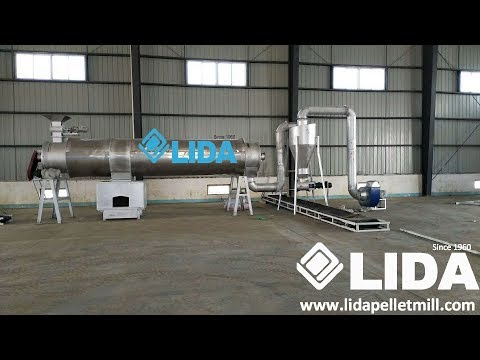 Vocuum dryer from Yantai LIDA with words