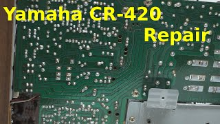 Yamaha CR-420 Repair
