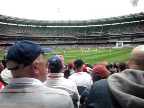 You All Live in a convict colony - Barmy Army MCG 2010