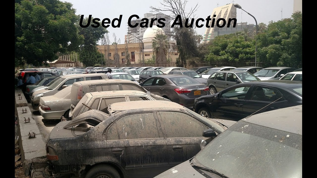 Used Car Auctions >> 37 Used Cars Auction In Pakistan Israr