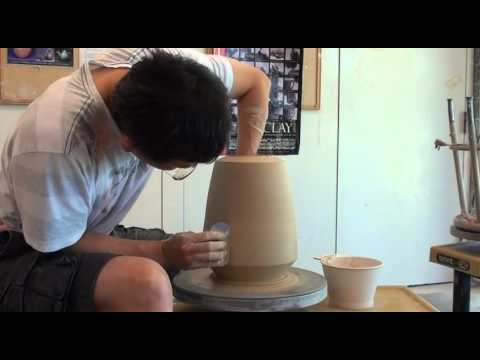 66. Throwing / Making an 8-Sided Double Wall Vessel with Hsin-Chuen Lin
