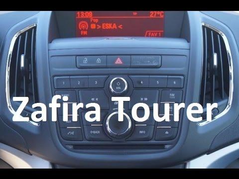 Infotainment Systems On Opel Vauxhall Zafira C Tourer