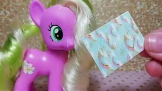 MLP/Как быстро сделать миниатюрную тетрадь для пони?/ видео-урок