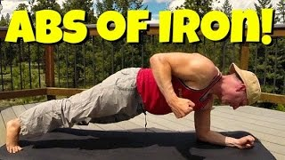 ABS of IRON Workout - 13 Min Intense Core Strength Routine #abworkout
